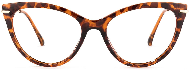 Zeelool Stylish TR90 Cat Eye Blue Light Blocking Glasses for Women Computer Gaming Eyewear Pablo OX017894