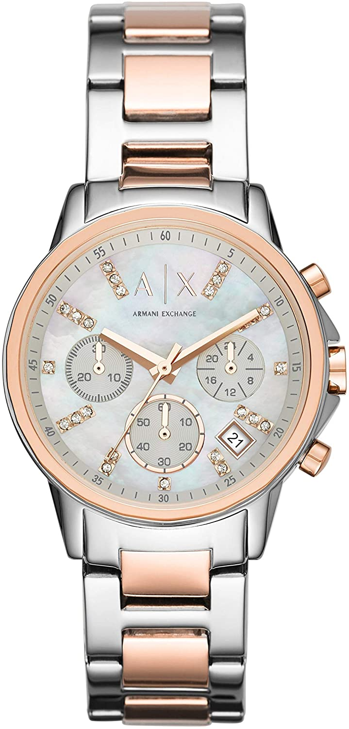 Armani Exchange Lady Banks Stainless Steel Watch