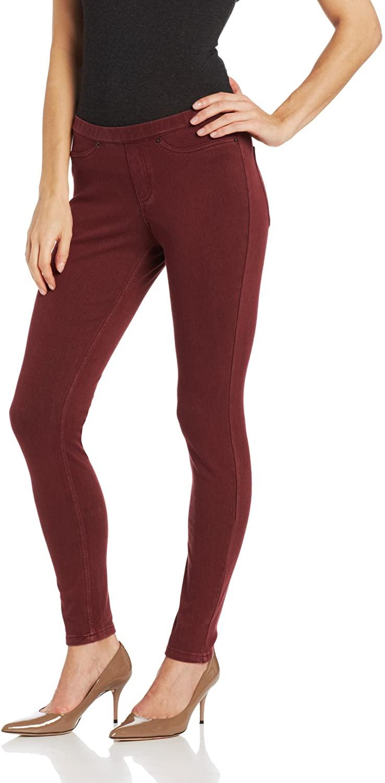 HUE Women's Solid Color Original Jeanz Denim Legging