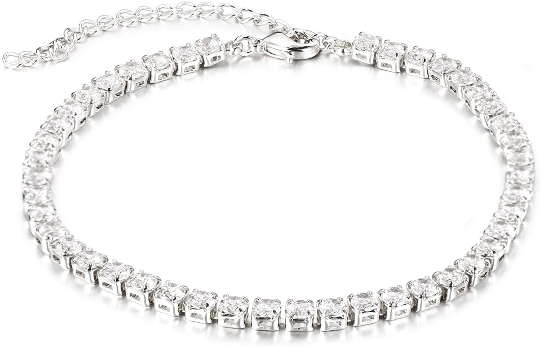 Sunflower Jewellery Tennis Bracelet Cubic Zirconia for Women