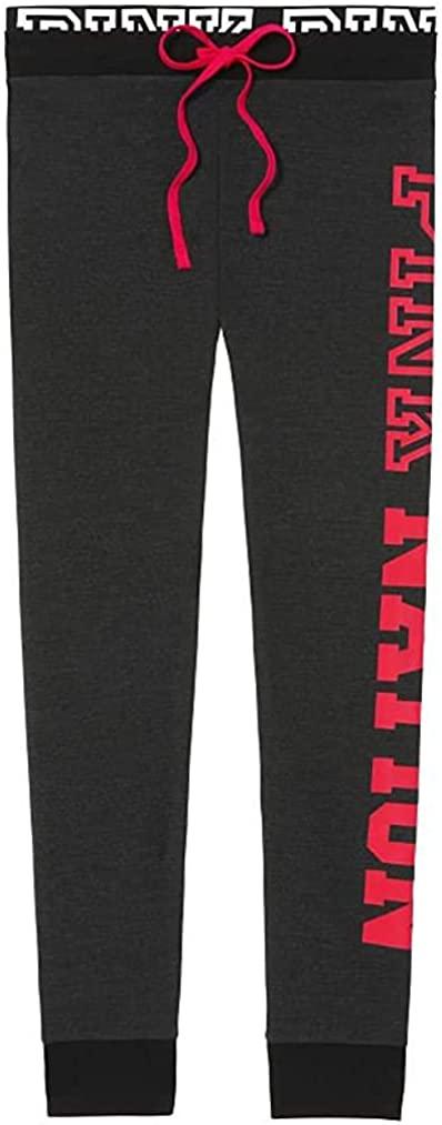 Victoria's Secret Pink Campus Legging Pants Color Dark Gray Size XSmall NWT