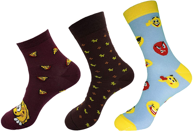 Women Cotton Quarter Mid Calf Crew Socks – Soft, Breathable Dress Socks with Cotton Fibers Size 5-9 (3-pairs).