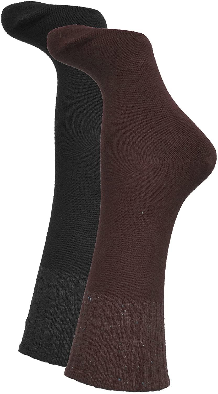 Hue Womens Mini Rugged Boot Socks 2 Pack Value One Size