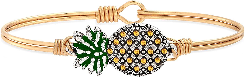 Luca + Danni   Pineapple Bangle Bracelet For Women Made in USA