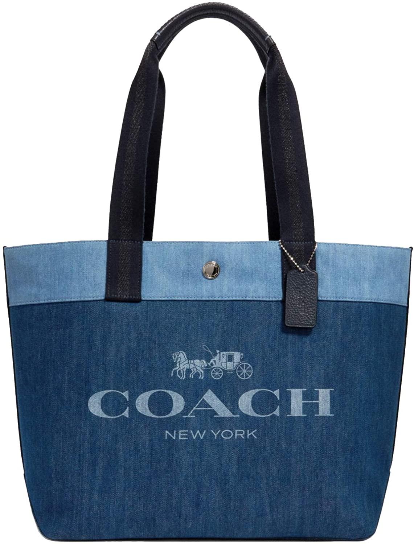 Coach Tote Handbag Shopper Bag Canvas