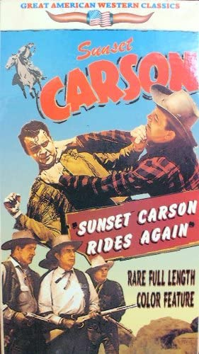 Sunset Carson Rides Again (Color) [Vhs]