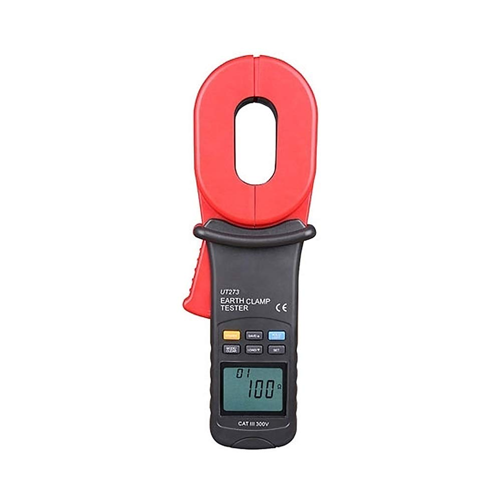 ATO Clamp-on Ground Resistance Tester, 0.01-1000Ω, Digital Insulation Tester, Ideal for Outdoor Work (ATO-GIT-UT273)