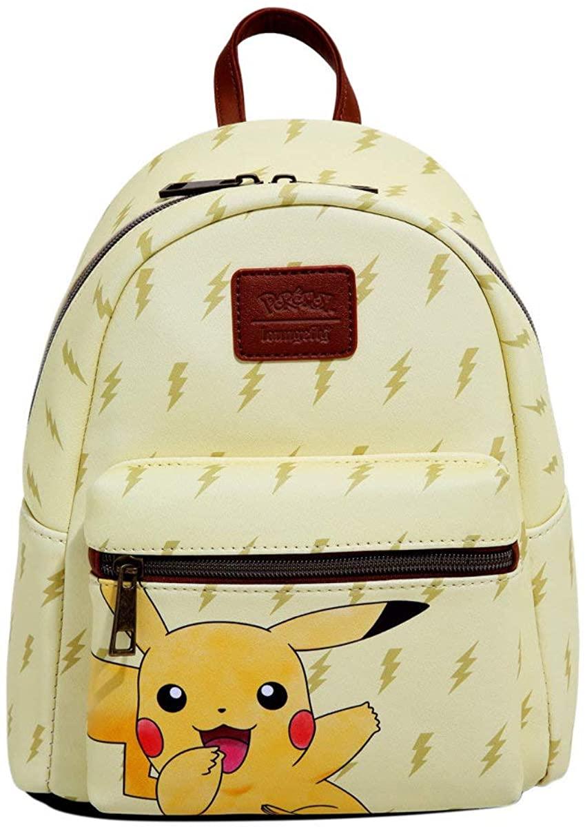 Loungefly Pokemon Pikachu Lightning Bolts Mini Backpack