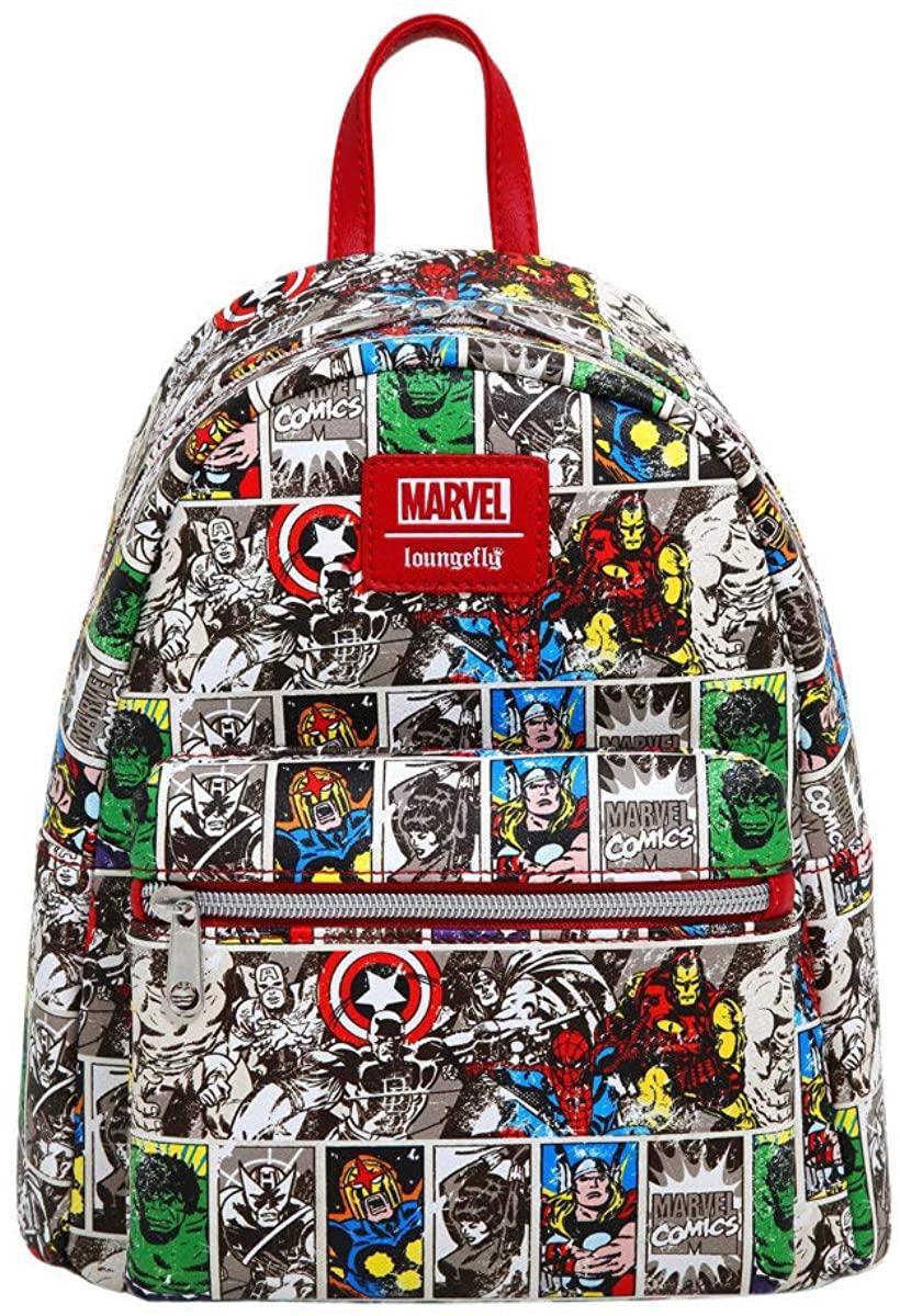 Loungefly Marvel Comic Mini Backpack