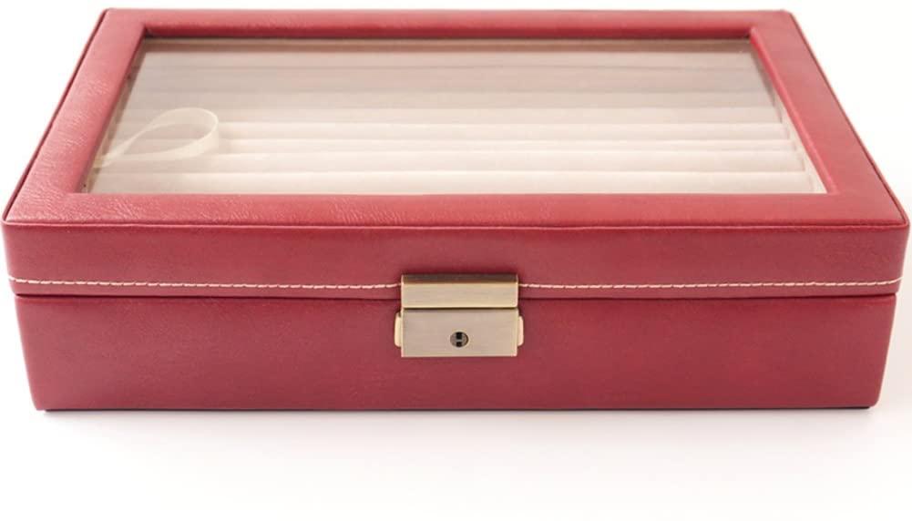 BVCBD TRE Fashion Jewelry Storage Box/Cufflinks Jewelry Rings Earrings Ear Nail Storage Box/Single-Tier Jewelry Box-B