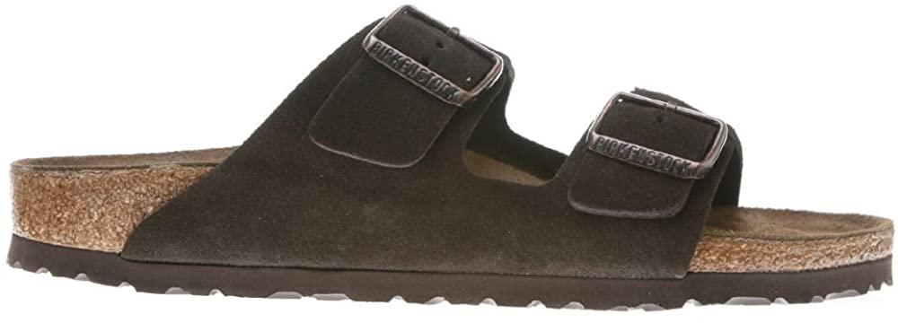 Birkenstock Mens Arizona Mocca Suede Sandals 45 EU