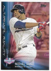 Miguel Sano 2016 Topps Opening Day Alternate Reality Minnesota Twins Insert Card #AR-10