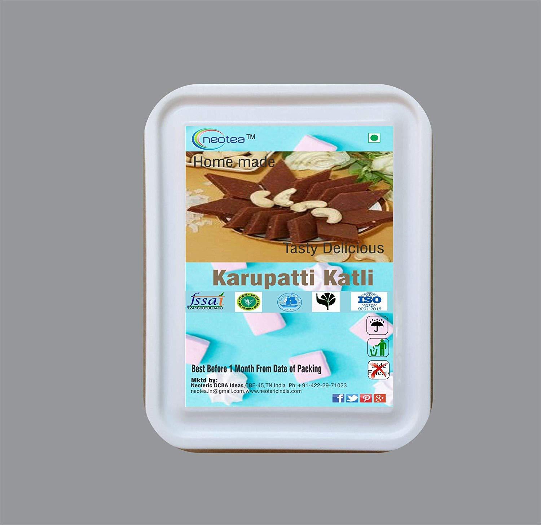 Neotea Tasty Delicious Karupatti Katli Dessert/Sweets (1kg)