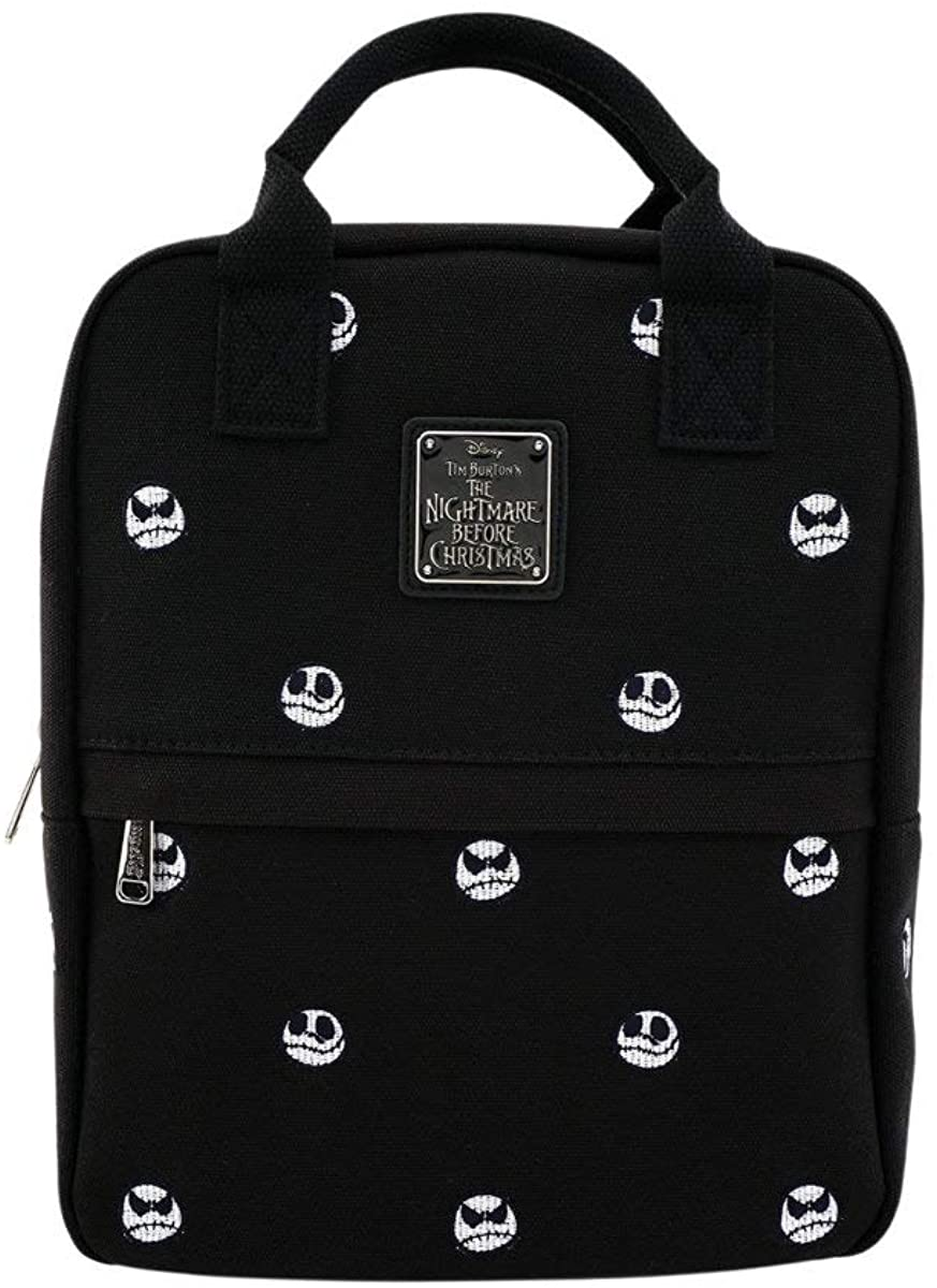 Loungefly The Nightmare Before Christmas Jack Skellington Embroidered Mini Backpack