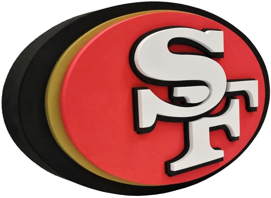 NFL San Francisco 49Ers 3D Foam Logo