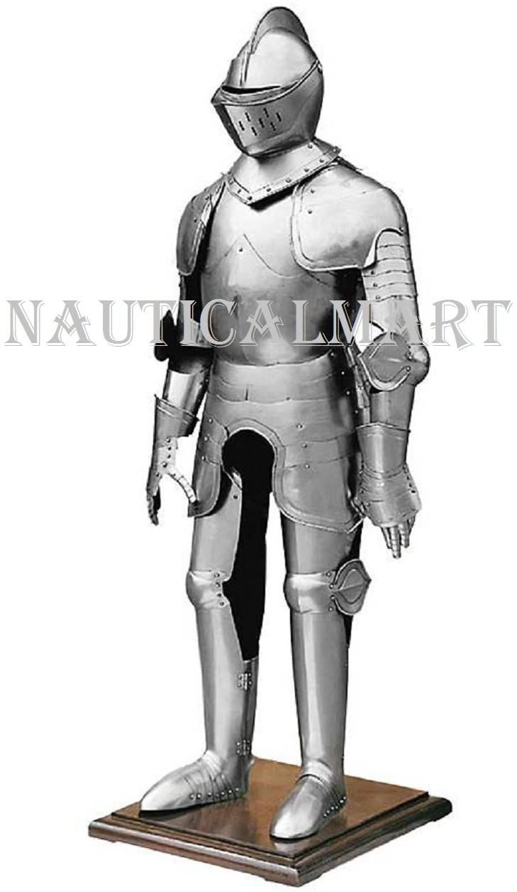 NauticalMart Plate Armour 15th Century Combat Suit of Armor Medieval Knight