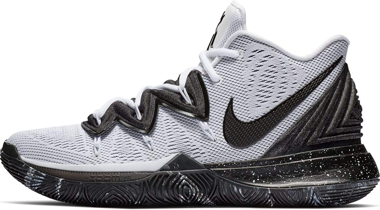 Nike Mens Kyrie 5 Kyrie Irving/White Nylon Basketball Shoes 11 M US