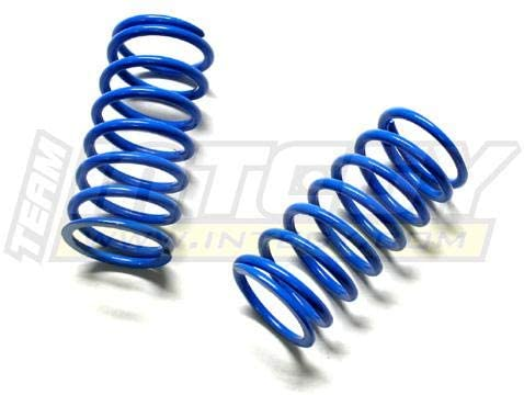 Integy RC Model Hop-ups T3158 25lbs Blue Spring (2) for 1/10 Revo, E-Revo (-2017), Jato, Summit & Slayer (Both)