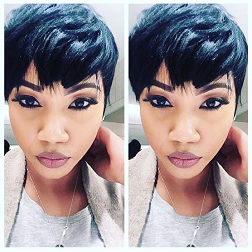 Cheap Hair Wig Hot Sale Short Pixie Cut Wigs Short Wigs For Black Women Cheap Synthetic Hair Wigs