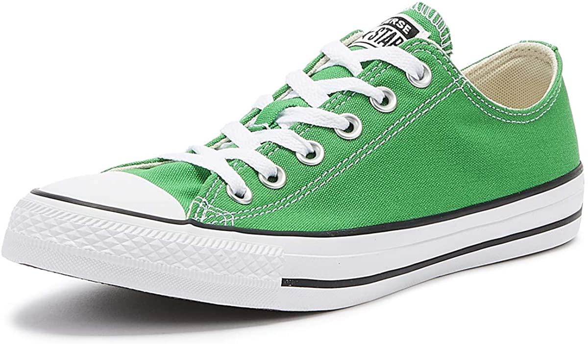 Converse 164939C Womens Canvas Trainers in Green