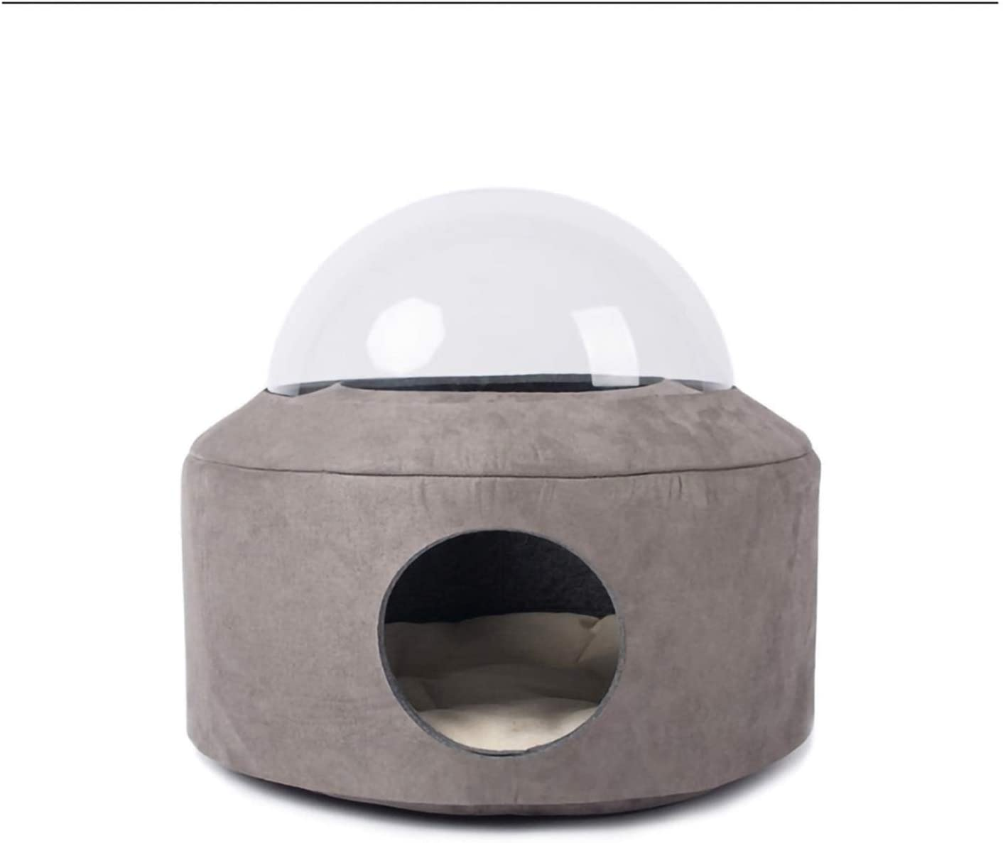 RSBCSHI Pet Bed Dog Bed, Cat Bed Round Kennel,Cat Nest Thick Plush in Autumn and Winter, Suitable for Cats and Dogs Domestic