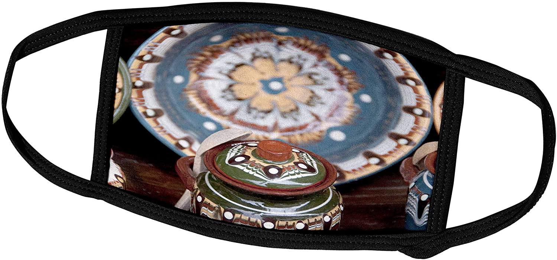 3dRose Bulgaria, Veliko Tarnovo, Pottery - EU05 CMI0098 - Cindy Miller. - Face Covers (fc_81095_2)