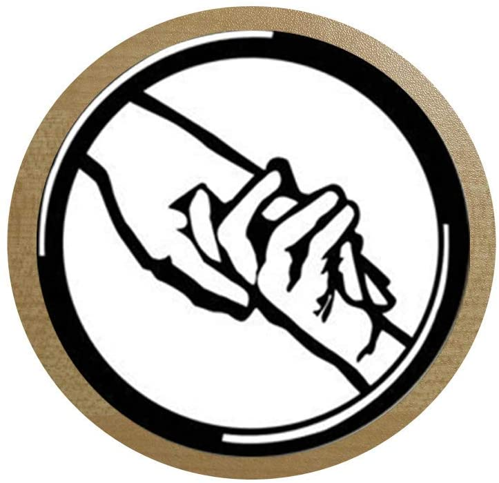 Dauntless Sign of Divergent Necklace Round Glass Pendant Jewelry Glass Photo Pendant 4 ice Box Sticker,Blackboard Sticker