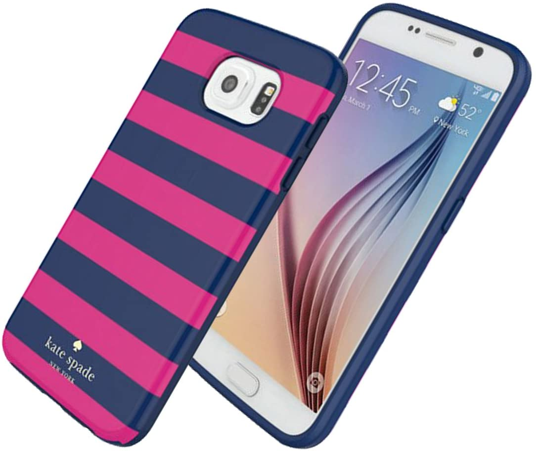 Kate Spade New York Flexible Hardshell for Samsung Galaxy S6 - Candy Stripe