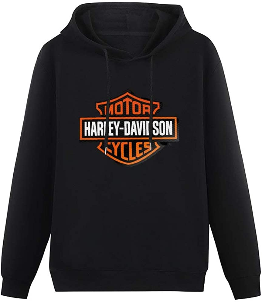 ZHOUMIN Unisex Fashion Anime My Hero Academia 18 Har-Ley David-Son Motorcycle Vehicle Hooded Sweatshirt