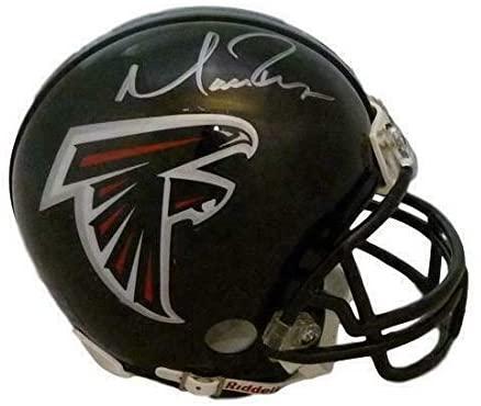 Matt Ryan Autographed/Signed Falcons Mini Helmet JSA 13034 - Autographed NFL Mini Helmets