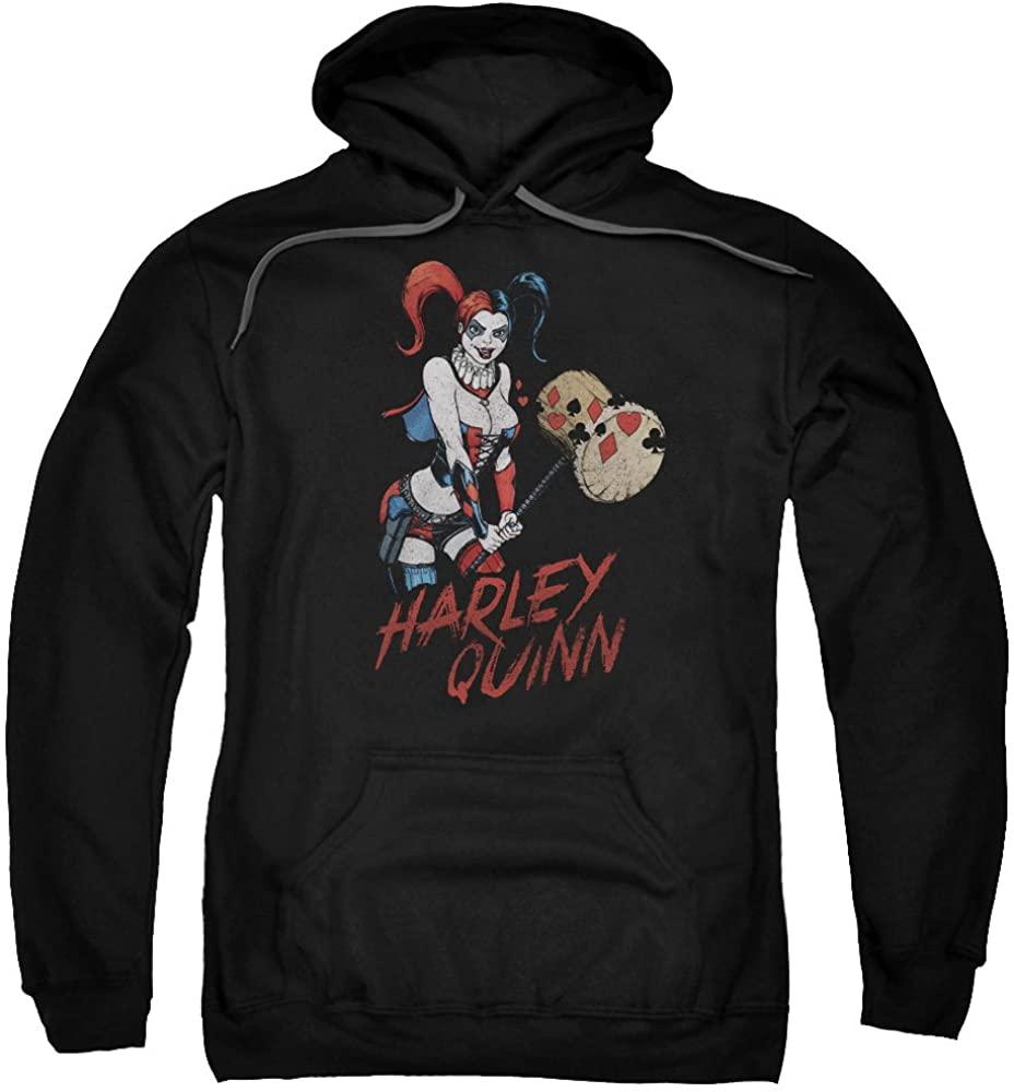HARLEY QUINN - Hammer Black Pullover Hoodie