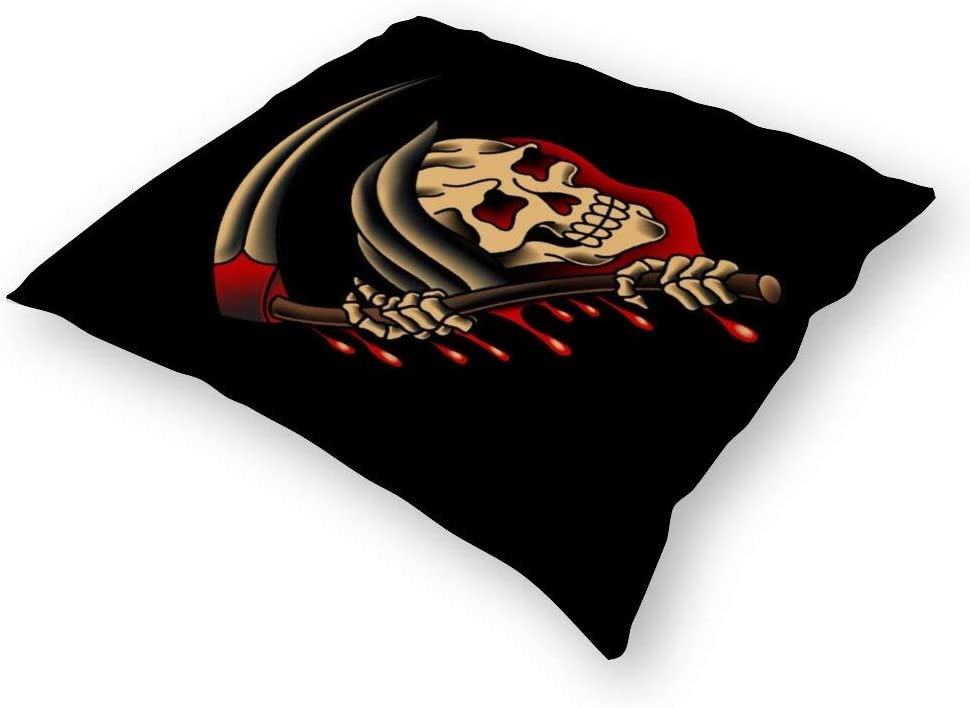 Salty-Dog American Traditional Grim Reaper Apron Pillowcases, Floor Pillowcases, Pillowcases, Sofa Cushions, Cushion Covers, backrest Covers, car Cushion interiors