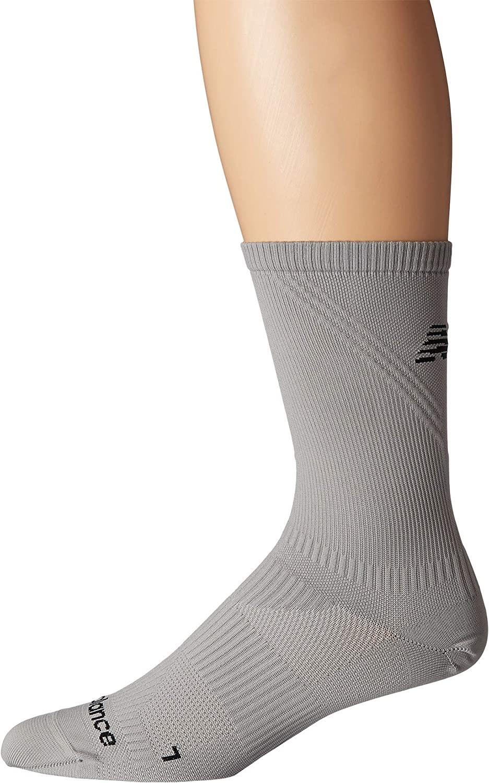 New Balance 1 Pack Run Foundation Flat Knit Crew Socks