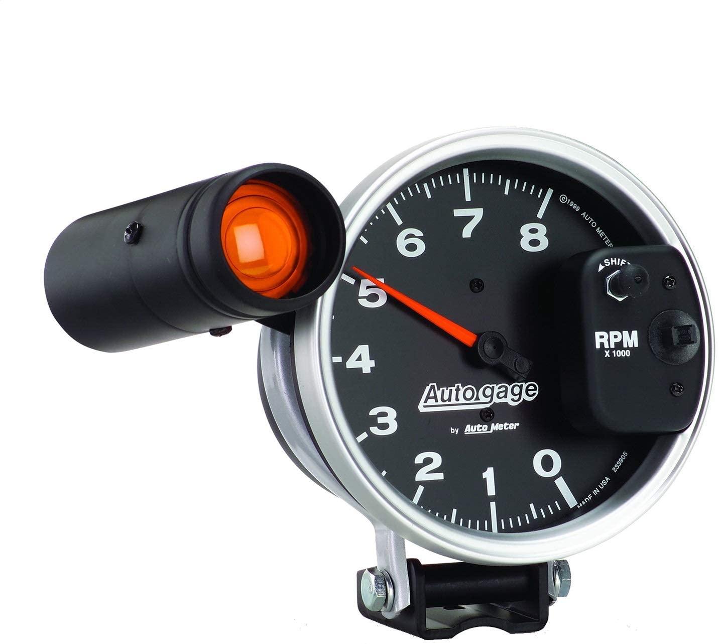 AUTO METER 233905 Autogage Monster Shift-Lite Tachometer,5.000 in.