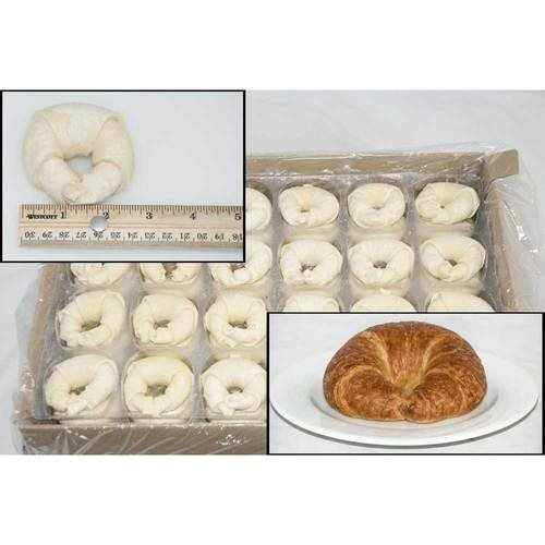 General Mills Pillsbury Butter Pinched Croissant Dough, 2.75 Ounce -- 120 per case.