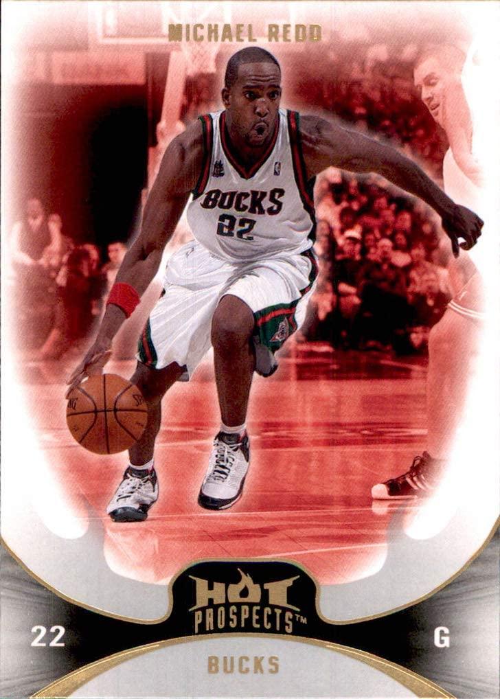 2008-09 Hot Prospects #74 Michael Redd MILWAUKEE BUCKS OHIO STATE BUCKEYES