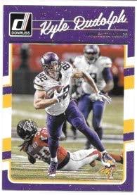 Kyle Rudolph 2016 Donruss Minnesota Vikings Card #174
