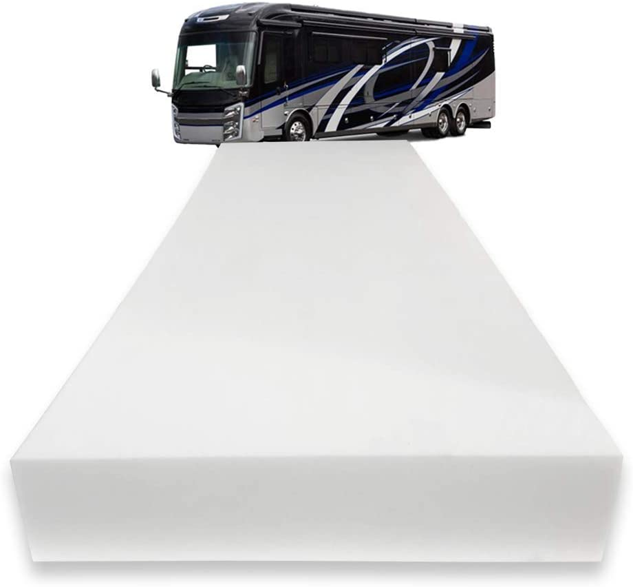 """Foamma 5"""" x 32"""" x 79"""" Truck, Camper, RV High-Density Bunk Mattress Foam Replacement, Made in USA, Comfortable, Travel Trailer, CertiPUR-US Certified, Cover Not Included"""