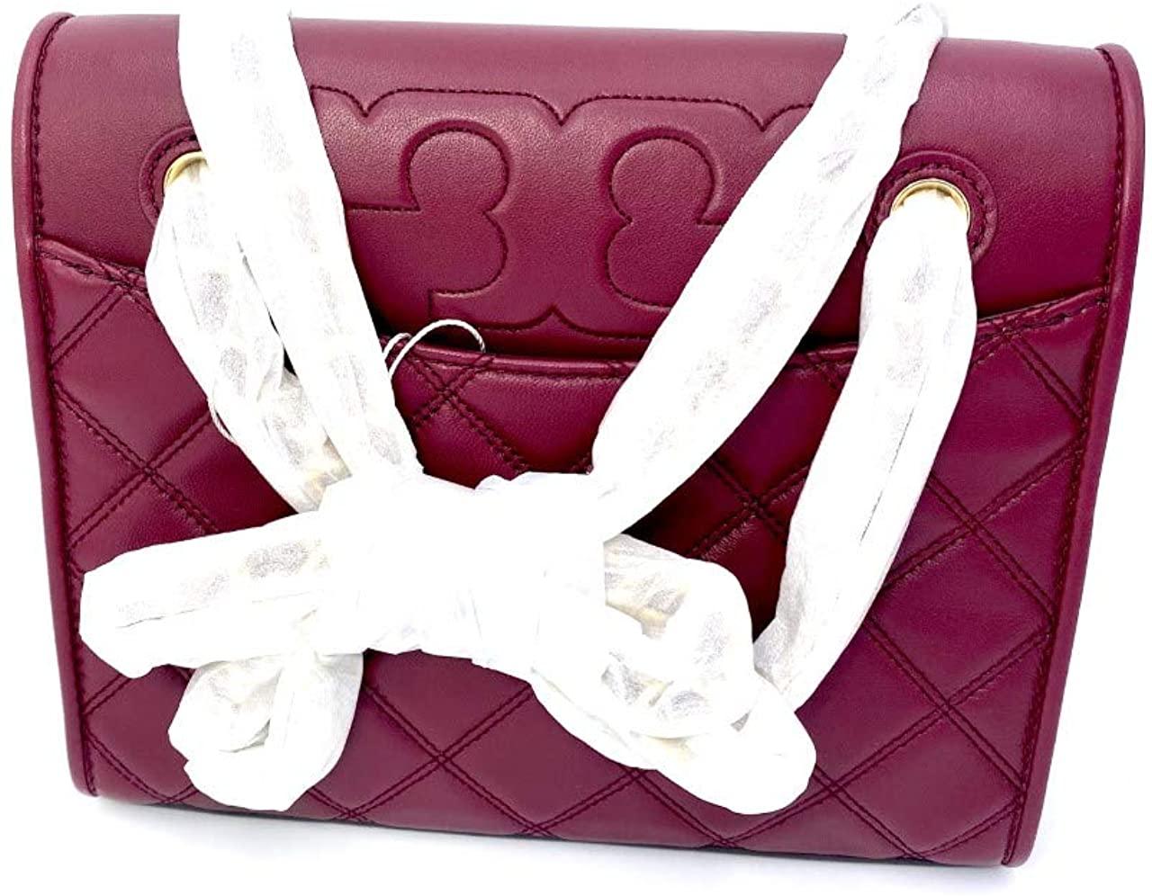 Tory Burch 64142-609 Imperial Garnet Savannah Convertible Women's Shoulder Bag