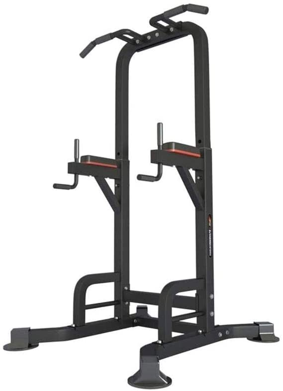 CYYSJJ Dip Stands Fitness Equipment Indoor Pull-Ups Household Heavy Single Parallel Bars Multifunctional Adjustable Fitness Equipment for The Elderly Children Unisex (Size:13590225cm)