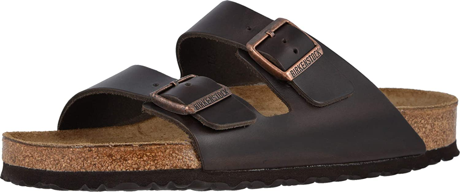BIRKENSTOCK Women's Arizona Soft Footbed-Leather (Unisex)