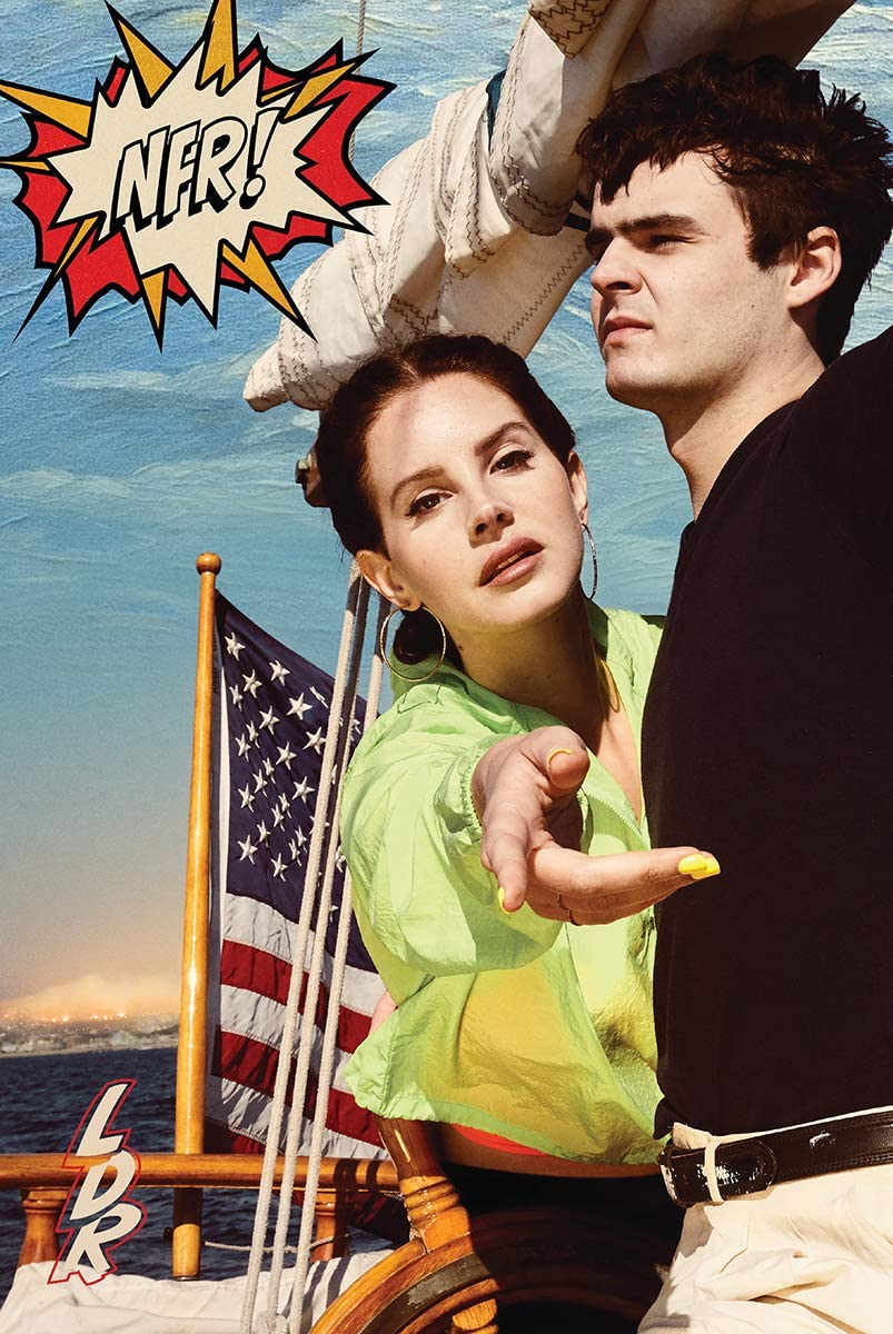 Lana Del Rey - Norman F Rockwell Album Cover Poster 24x36 inches