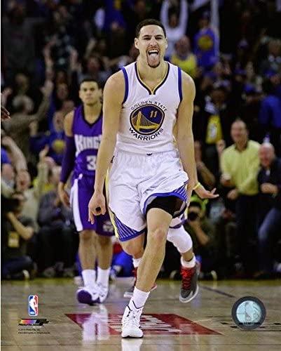 NBA Klay Thompson Golden State Warriors Action Photo