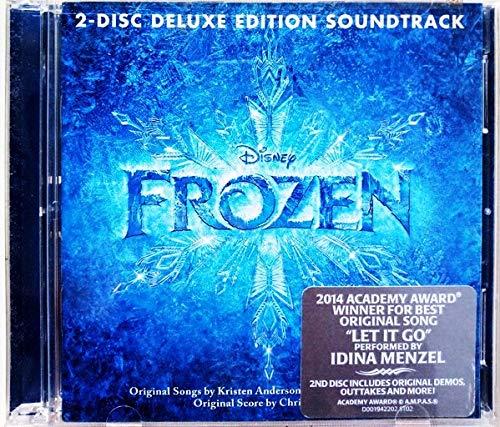 Frozen 2 Disc Deluxe Edition Soundtrack by Demi Lovato, Kristen Bell, Idina Menzel, Jonathan Groff, Josh Gad, Katie Lopez, (2013)