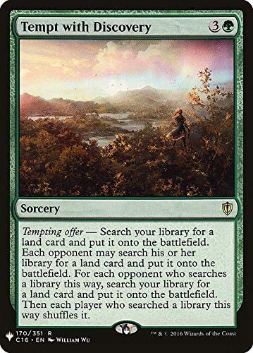 Magic: The Gathering - Tempt with Discovery - Mystery Booster - Commander 2016