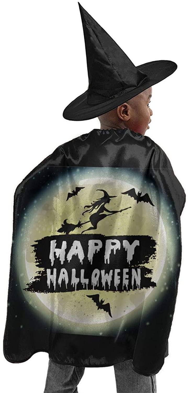 Happy Halloween Halloween Costume Wizard Cloak Witch Cloak Pumpkin Pocket Child Cosplayparty Christmas Thanksgiving