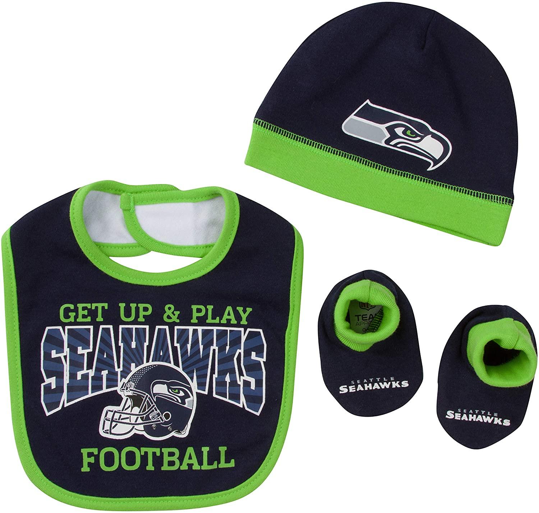 NFL Baby-Boy Cap Bib & Bootie Set