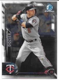 Brian Dozier 2016 Bowman Chrome Vending Minnesota Twins Card #53