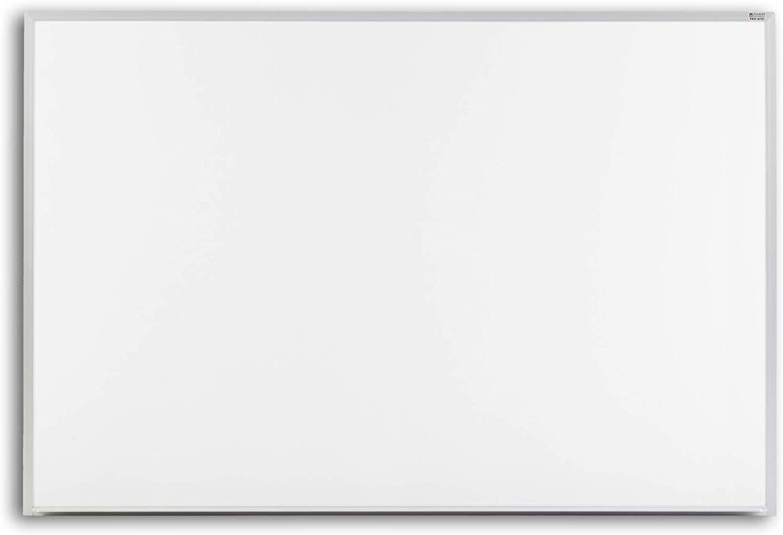 Pro-Rite 60x96 White porcelain markerboard, Standard Aluminum trim - Particle Board