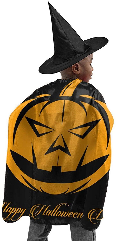 Halloween Halloween Costume Wizard Cloak Witch Cloak Pumpkin Pocket Child Cosplayparty Christmas Thanksgiving